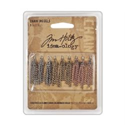 TH92904 Tim Holtz® Idea-ology™ Findings - Chain Tassels DISCONTINUED